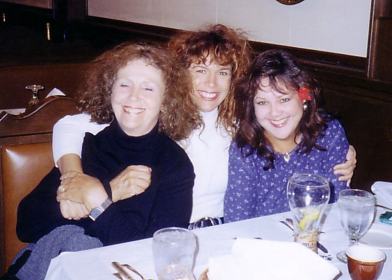 Moe, Susan, and Victoria at Mader's in Milwaukee